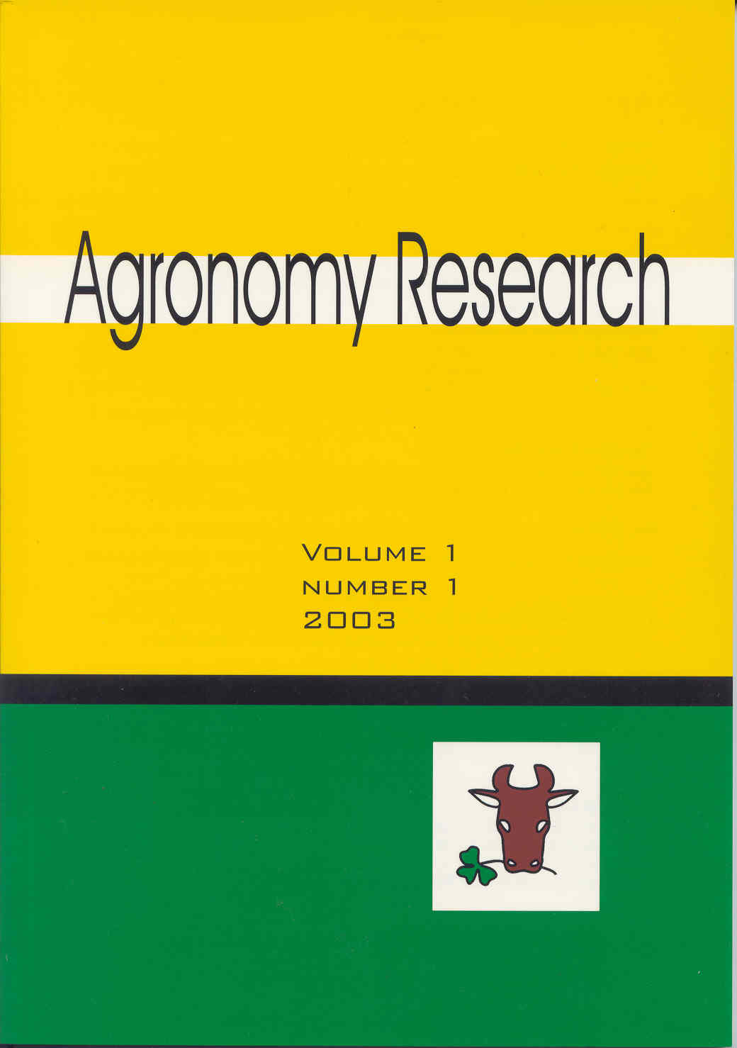 agronomy research